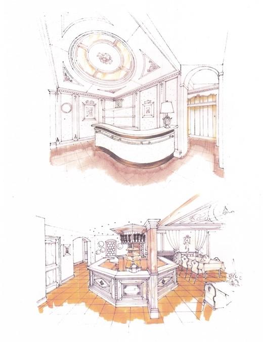 dessin architecte Laboisière