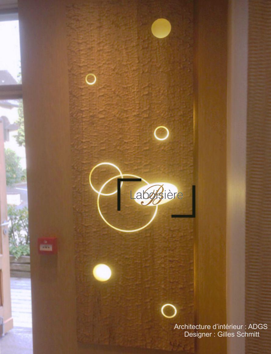Chez Michèle restaurant - Détail de l'un des tableaux panneaux décoratifs